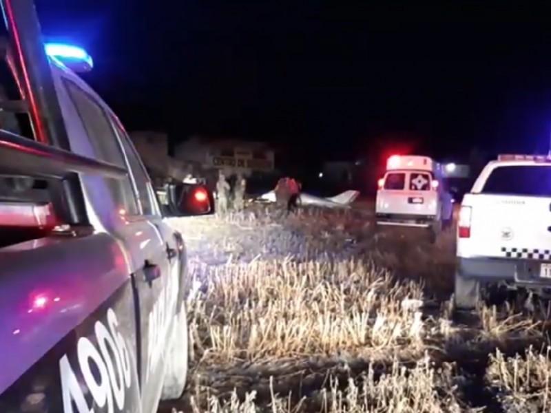 Aeronave se desploa en Colón y deja dos lesionados