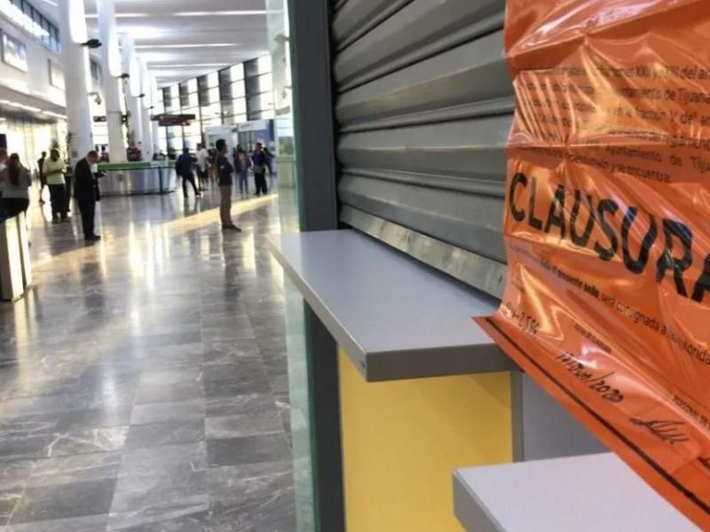 Aeropuerto de Tijuana cierra tras suspensión por adeudos de años