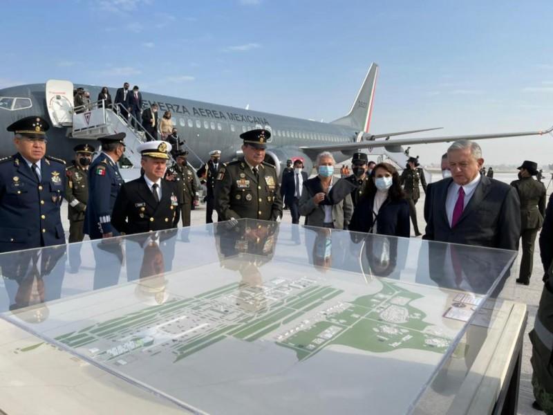 Aeropuerto Felipe Ángeles, construcción más importante en su tipo: AMLO