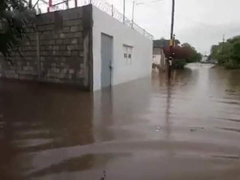 Afectaciones en Ixtepec por fuertes lluvias