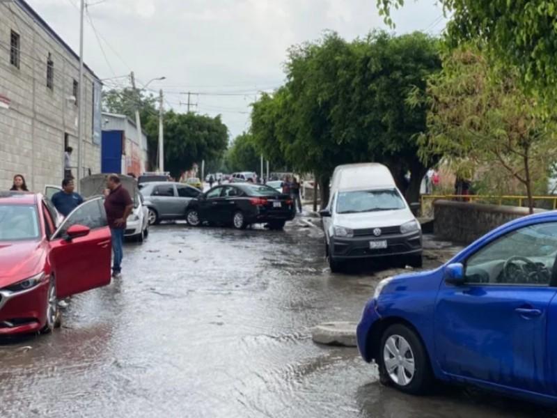 Afectaciones por fuertes lluvias en zona norte