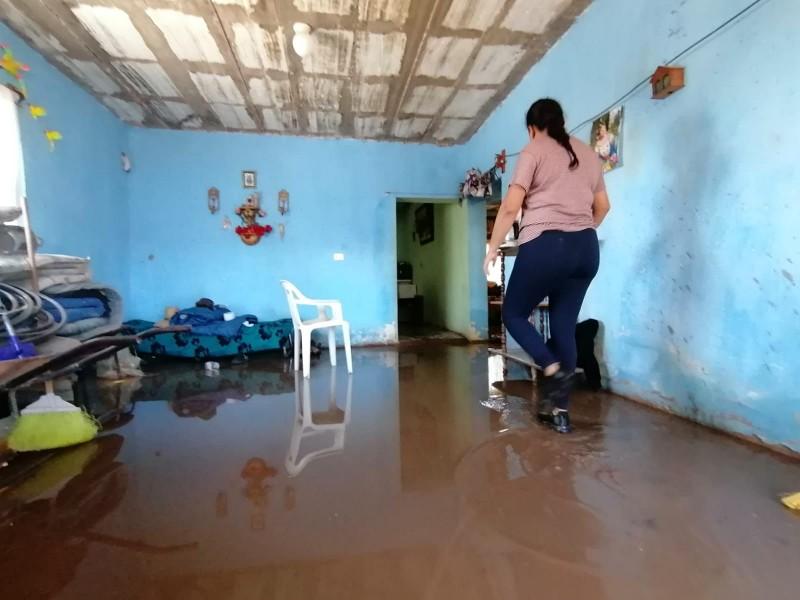 Afectaciones por lluvias en Guadalupe de Trujillo