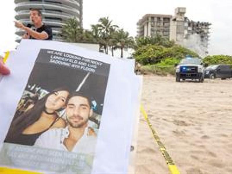 Afectados en Surfside, en Miami-Dade, aún sin respuestas de autoridades