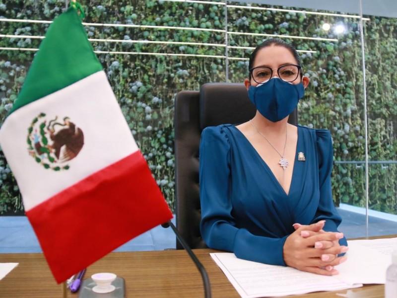 Diputada presidenta de mesa directiva avala trabajo de gobernador