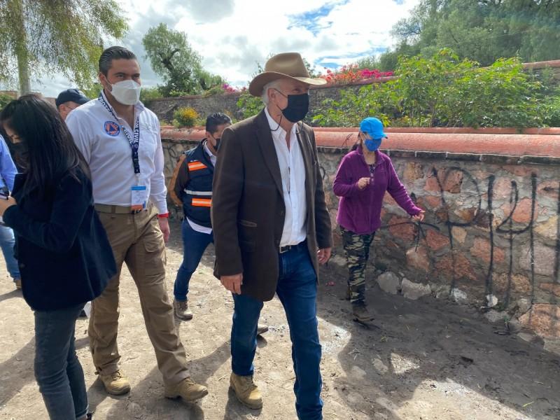 Afirma Enrique Vega que El Marqués requiere obras hidráulicas