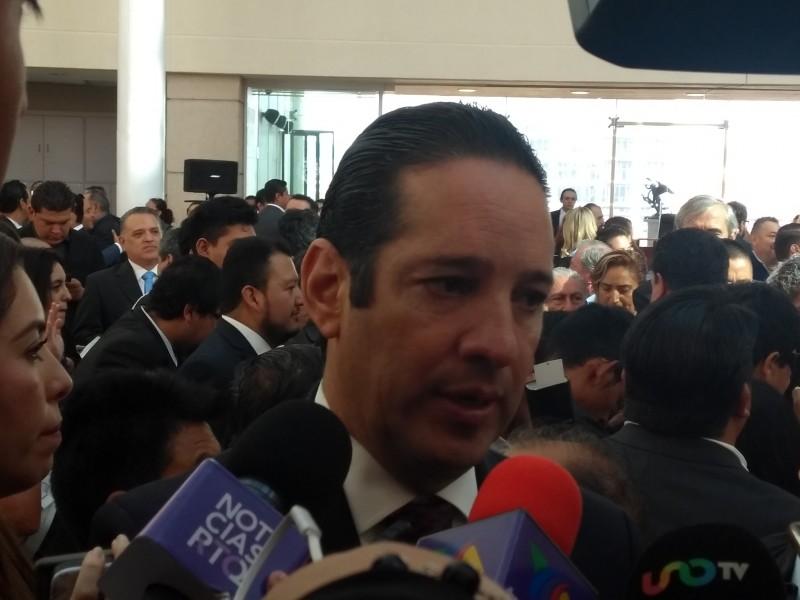 Afirma Gobernador que la violencia está en Guanajuato