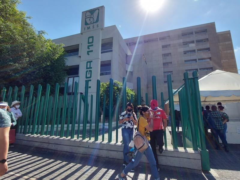 Afirma población incremento de hospitalizados Covid en el IMSS