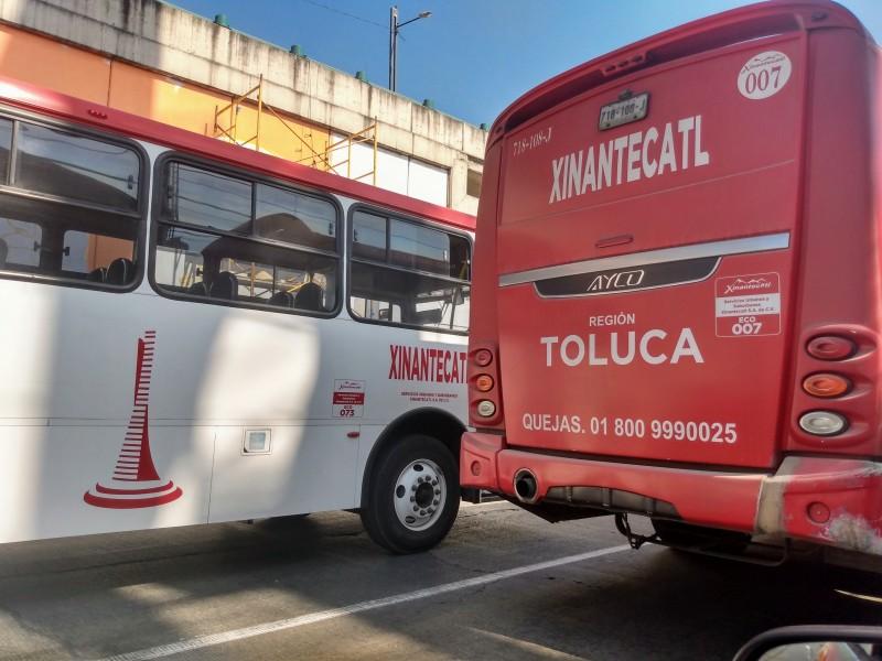 Afluencia del 15% en la terminal de Toluca