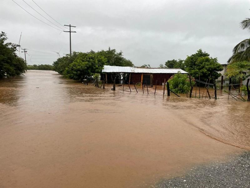 Agencias de Asunción Ixtaltepec afectadas por la Onda Tropical 29