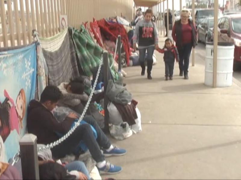 Agilizan turnos para migrantes que piden asilo