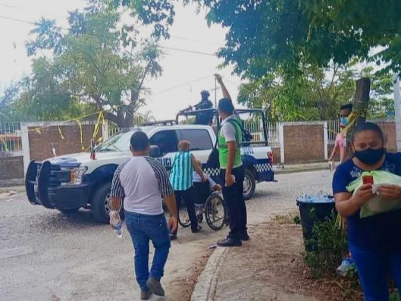 Aglomeraciones y robos durante entrega de apoyos en Poza Rica