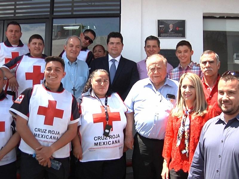 Agradecen donación de terreno para Cruz Roja