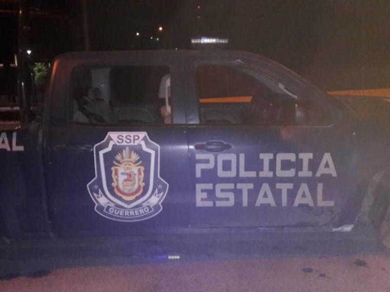 Agreden a balazos a policías en Acapulco