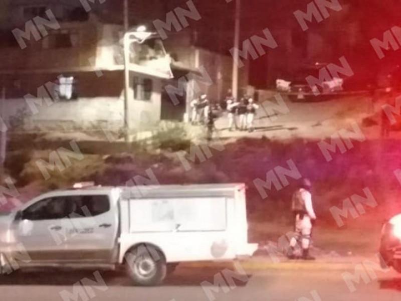 Agreden a policías de la capital, uno resulto lesionado