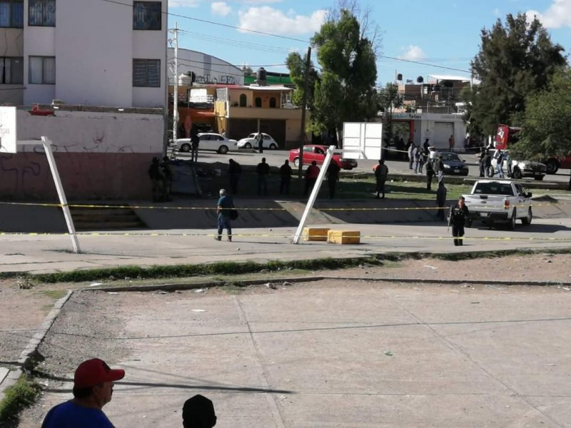 Agresión armada a personas deja tres muertos en Fresnillo