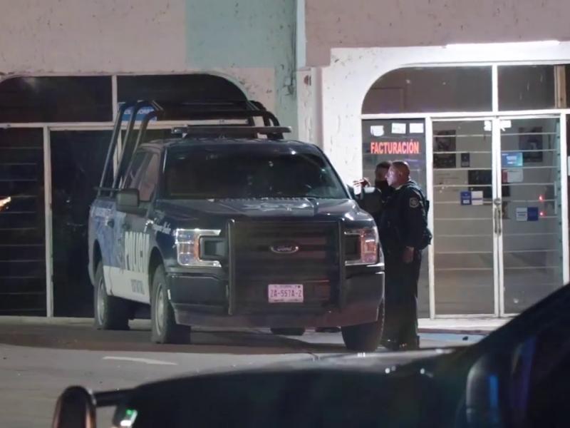 Agresión armada deja a tres elementos policiales heridos