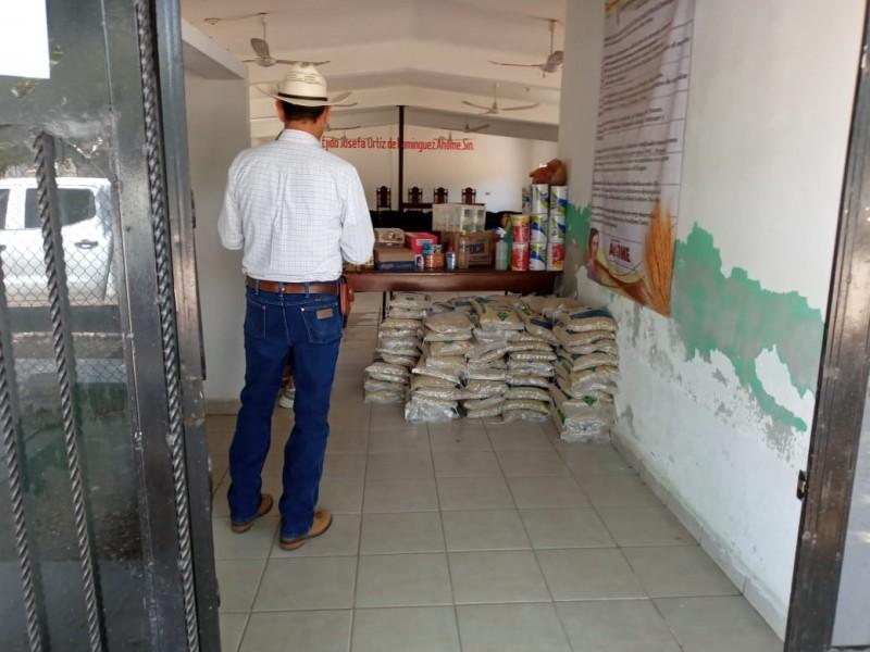 Invitan a donar alimentos para entregar despensas en El Carrizo