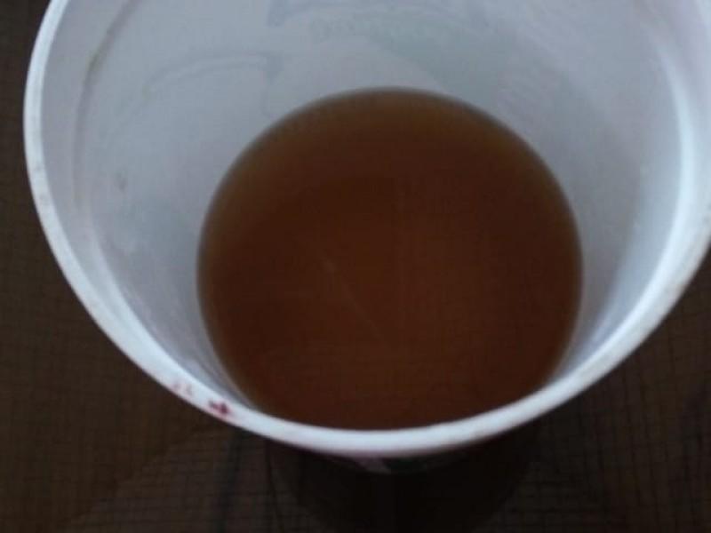 Agua potable revolcada en colonia Belisario Domínguez