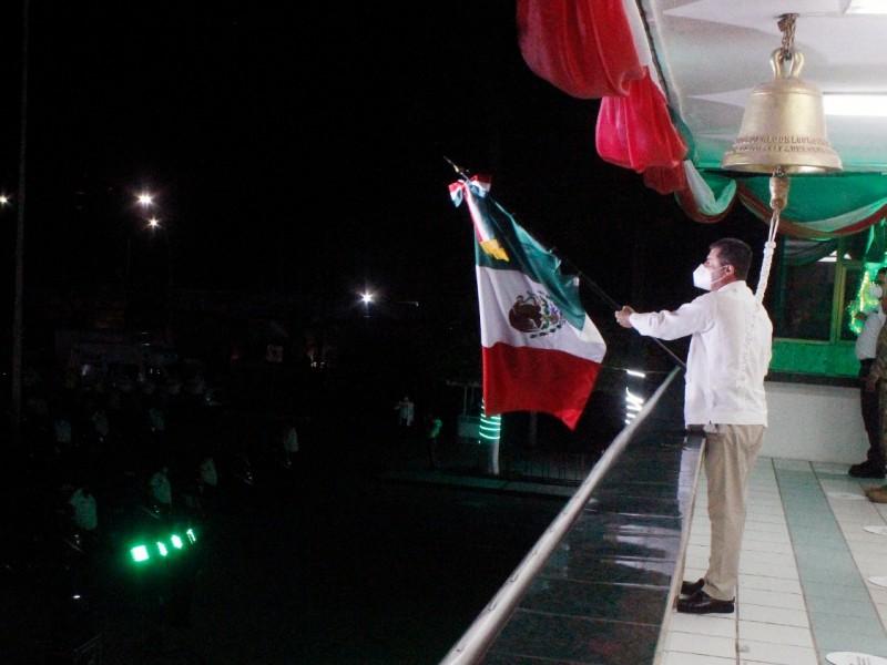 Ahome celebra el grito de independencia con pocos invitados