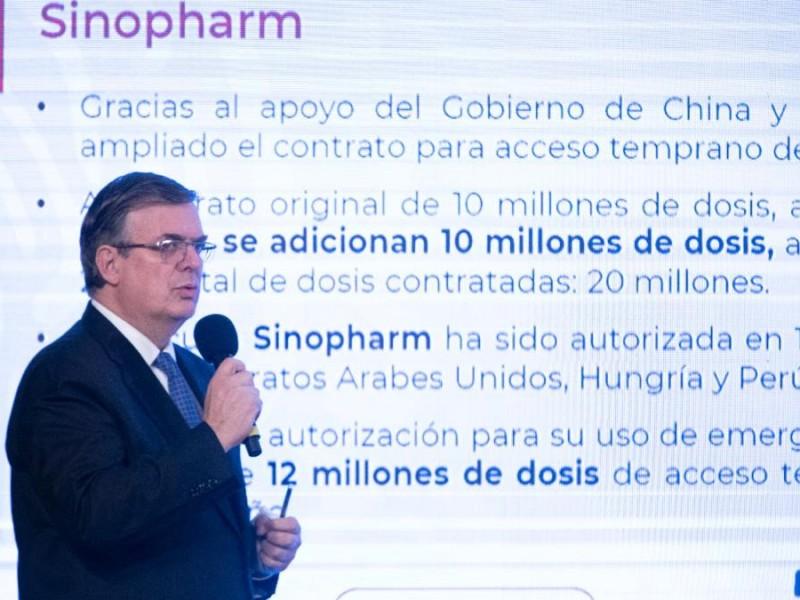 Ahora México accederá a vacunas de Sinopharm