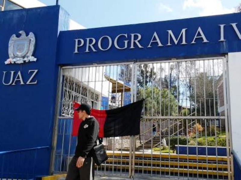 Ahora preparatorias de la UAZ pararon actividades