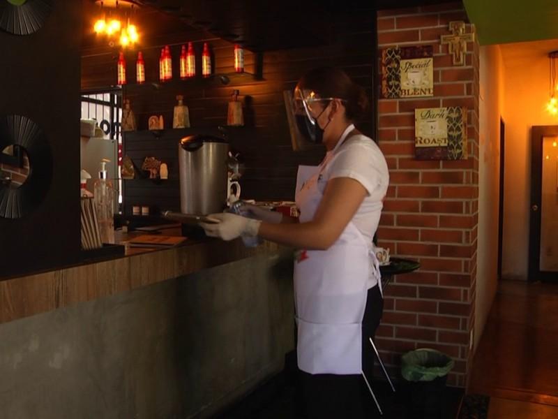 Al 10% en ventas se mantienen algunos restaurantes en Zacatecas
