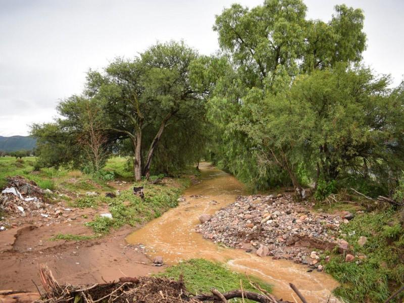 Al 100% de su captación presas del municipio de Jerez