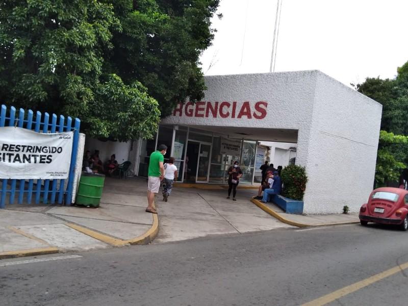Al 11% el área COVID19 del hospital general de Zihuatanejo