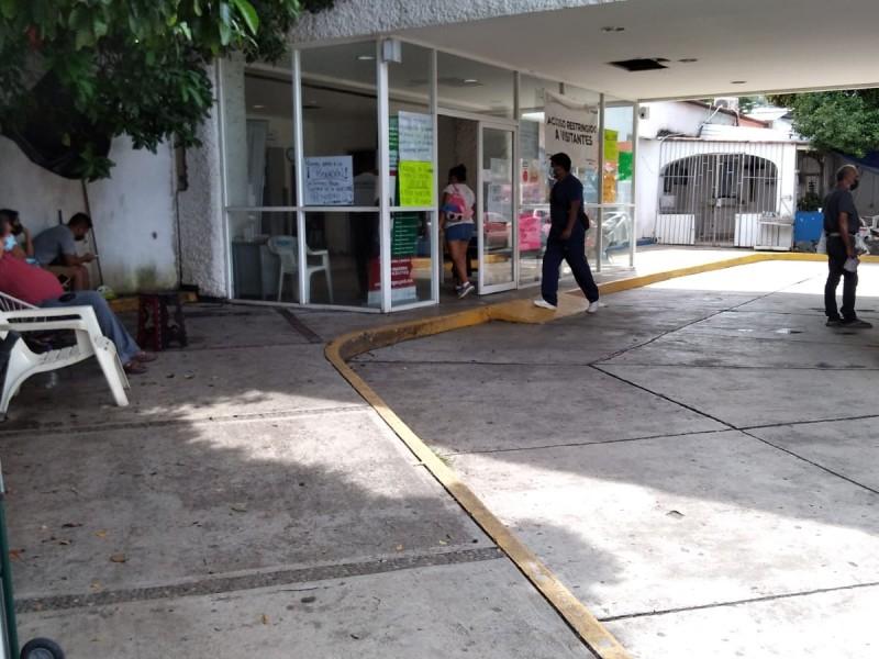 Al 7% camas Covid-19 en Hospital General de Zihuatanejo