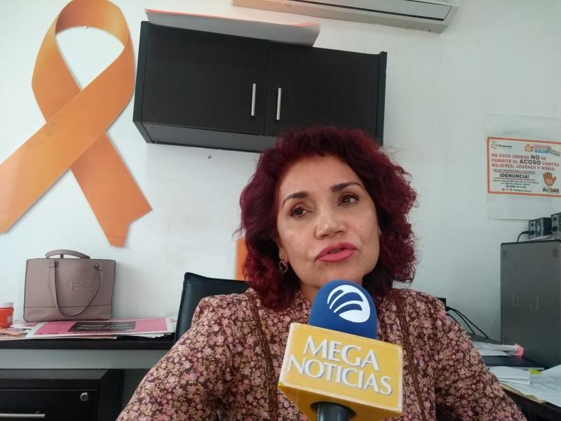 Al día IMUJER atiende 25 denuncias por violencia contra mujeres