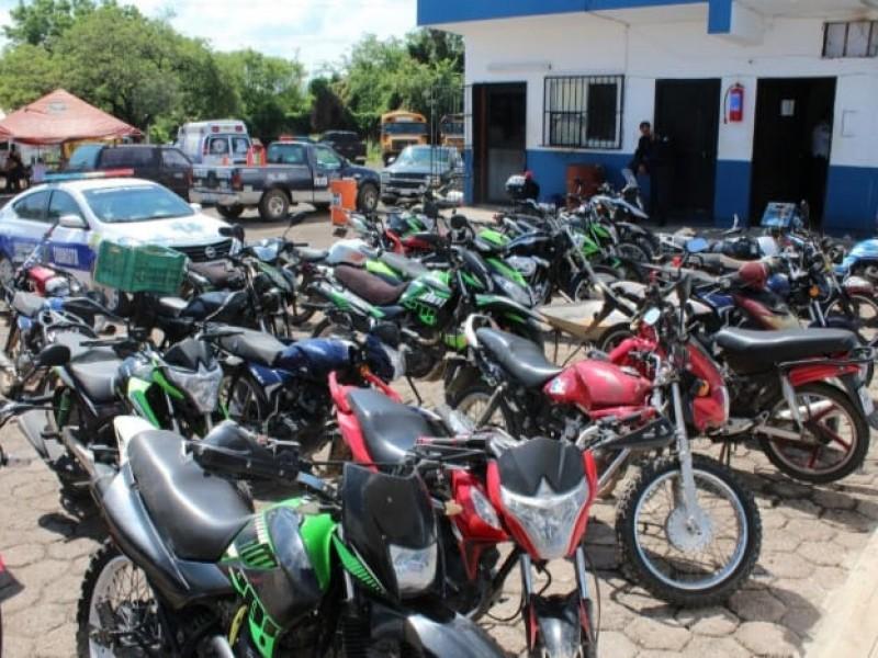 Al menos 30 motos han quitado a conductores sin casco