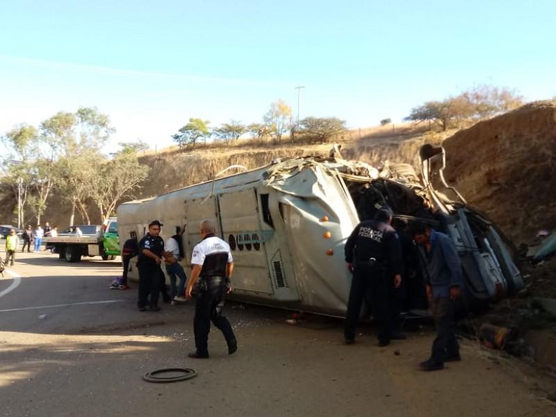 Al menos 40 heridos en Huitzo por accidente
