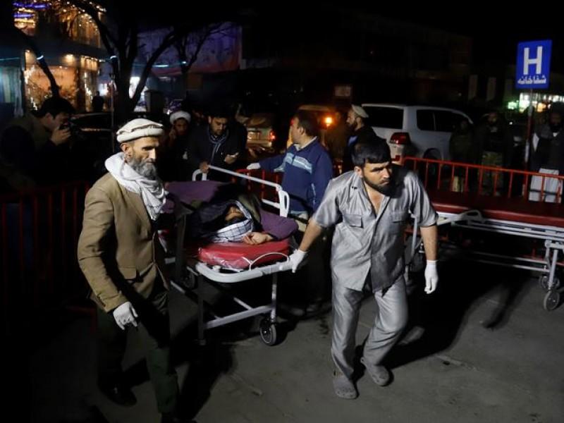 Al menos 40 muertos en Kabul tras explosión