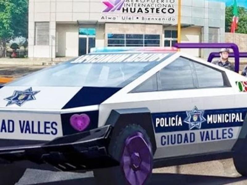 Alcalde compró Cybertruck para usarlas de patrulla