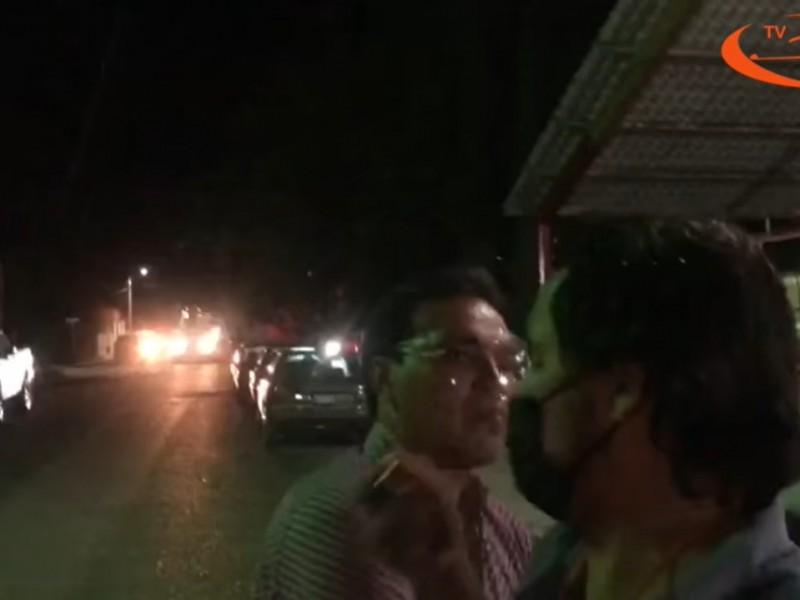 Alcalde de Parras De la Fuente agrede a reportero