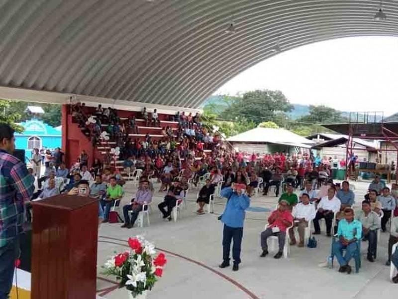 Alcalde de Salto de Agua realiza eventos masivos