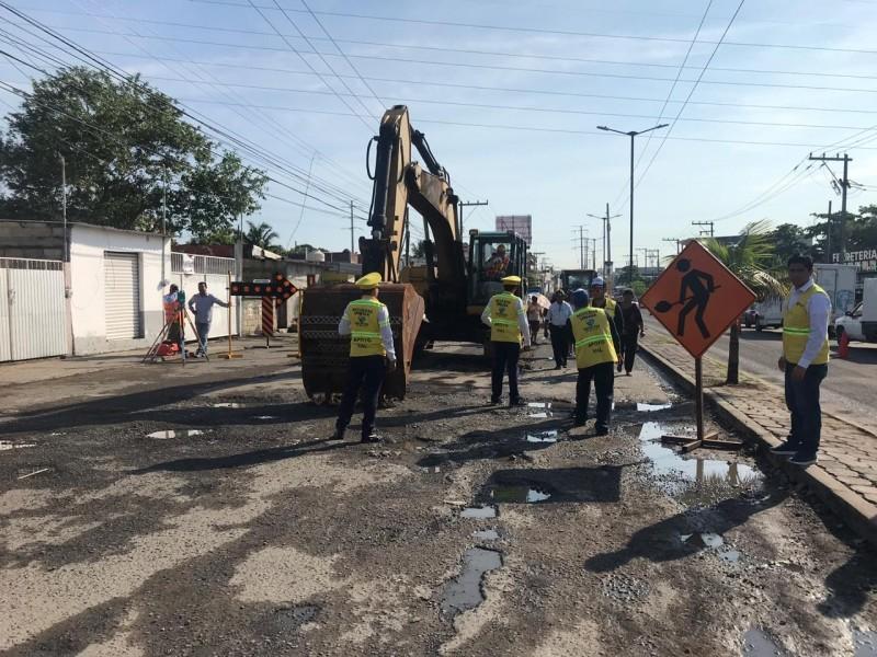 Alcalde niega atraso en obras de Veracruz