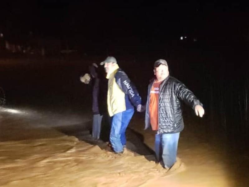 Alcalde pide ayuda a gobernador ante inundaciones en Miguel Auza