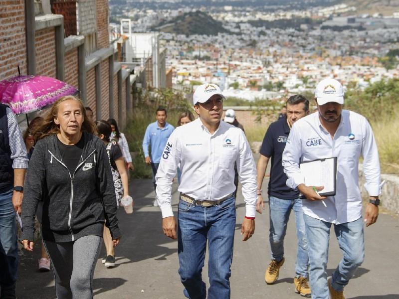 Alcalde recorre municipio de Corregidora