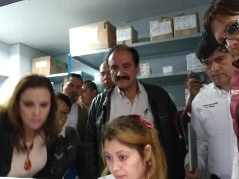 Alcalde zamorano compromete vigilar funcionamiento del Hospital General