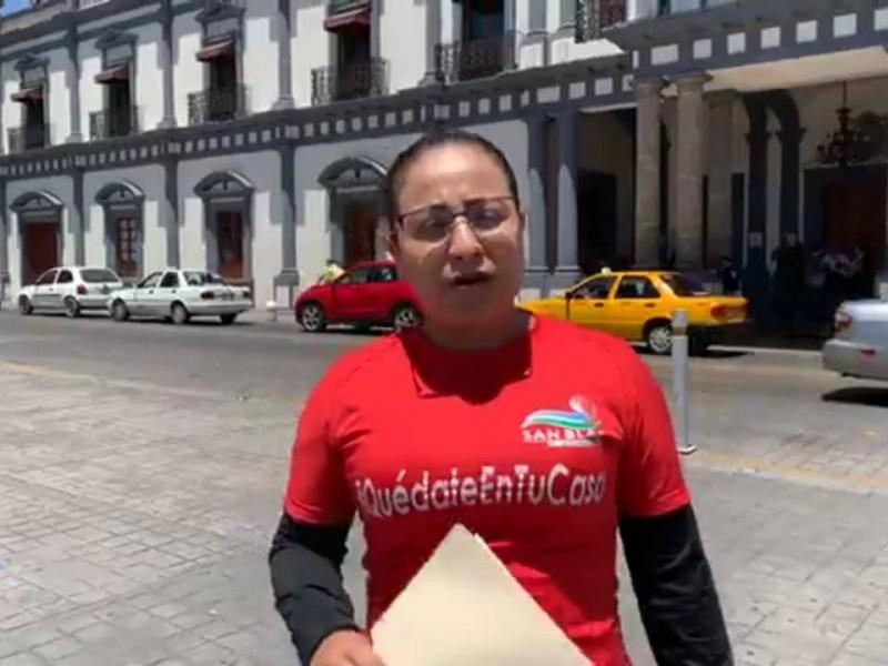 Alcaldesa de San Blas desmiente rumores;ciudadanos dieron positivo a COVID