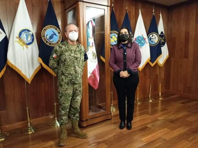Alcaldesa sigue trabajando en fortalecer la seguridad
