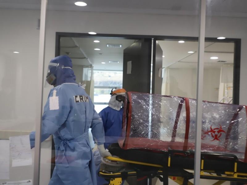 Alcanza Morelia ocupación hospitalaria COVID-19 del 96%