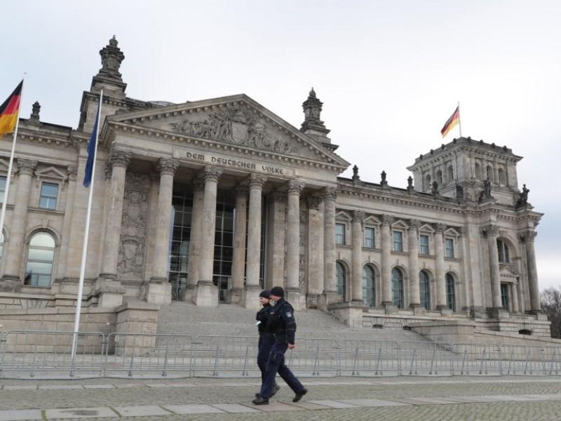Alemania refuerza la seguridad en el Bundestag