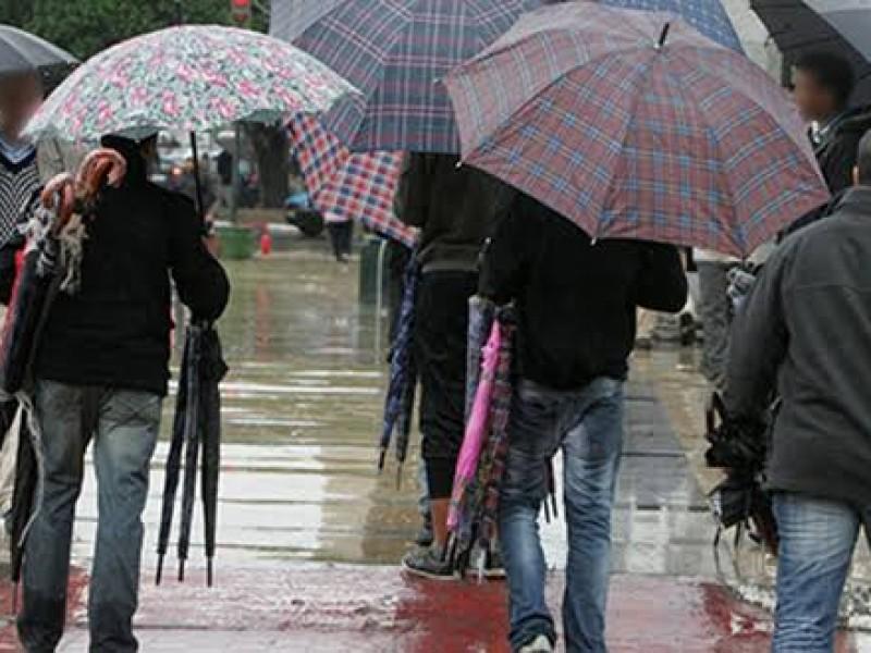 Alerta amarilla en seis alcaldías por lluvia