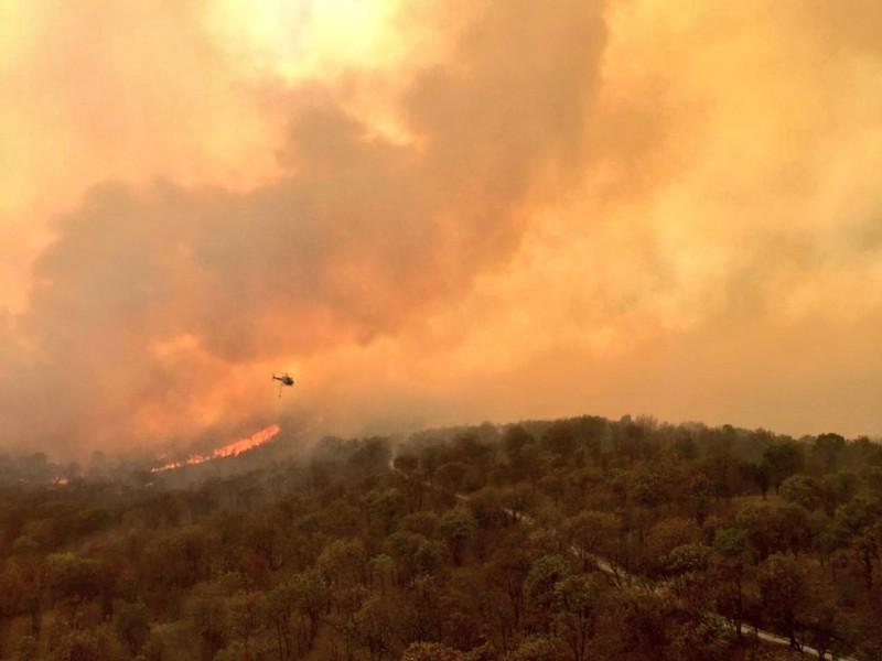 Alerta atmosférica en ZMG por incendio en Primavera