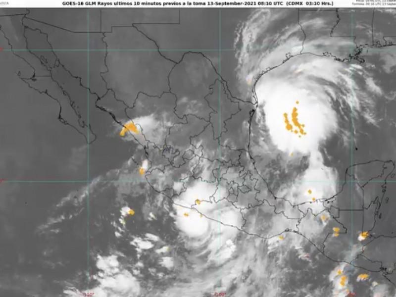 Alerta CONAGUA por crecida de ríos al sur de Veracruz