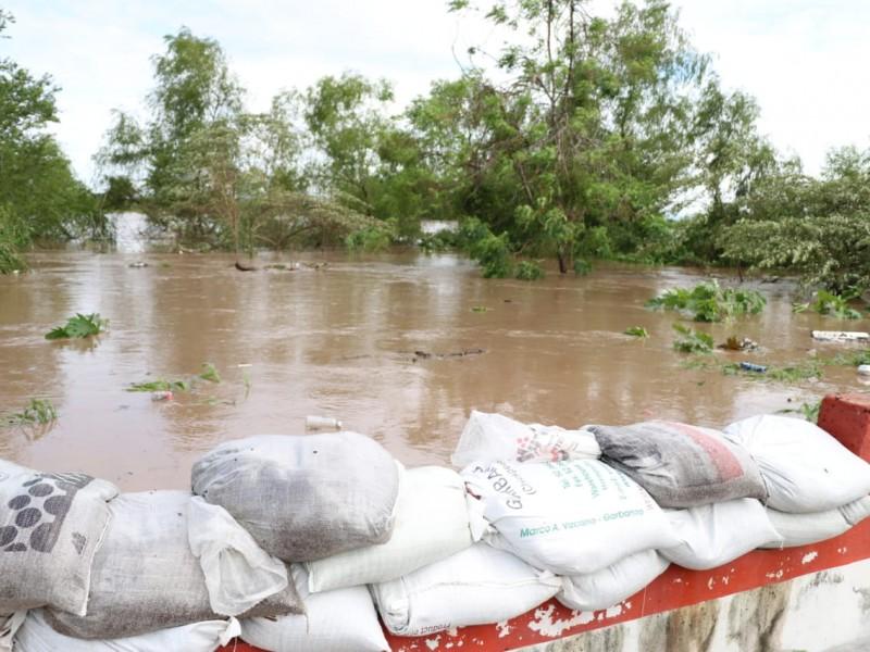 Alerta CONAGUA urge desalojo en Tuxpan