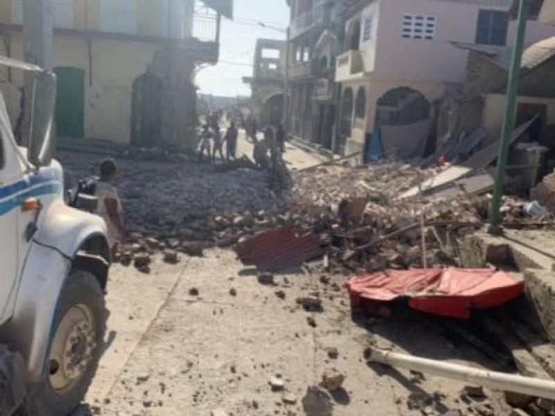 Alerta de tsunami en Haití por terremoto de 7.2 grados