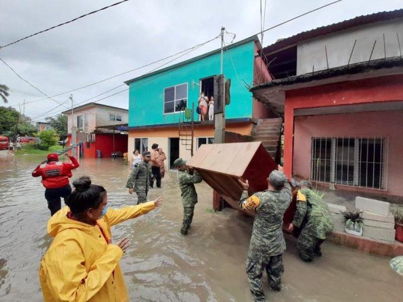 Alerta en Chiapas, Veracruz y Tabasco por lluvias